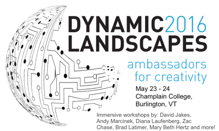 Dynamic Landscapes Registration is OPEN! Join us on May 23-24, 2016! Here are some updates!