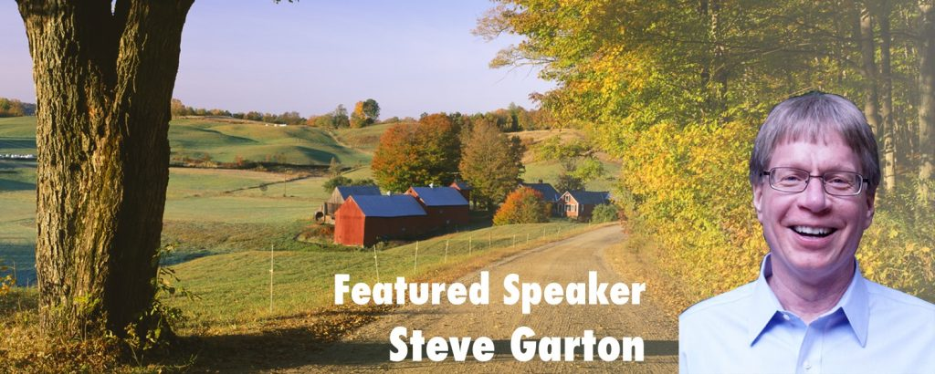 Featured Speaker Steve Garton