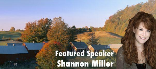 Featured Speaker: Shannon McClintock Miller