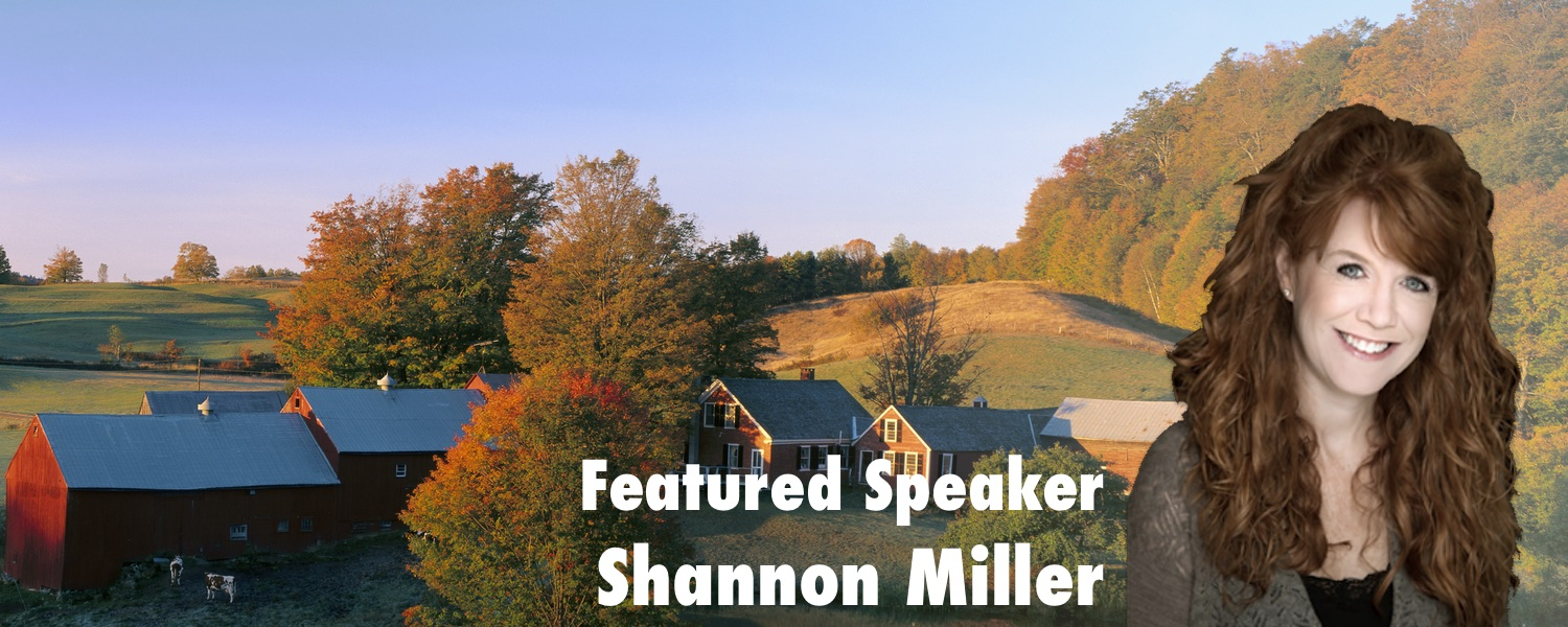 Featured Speaker: Shannon McClintock Miller